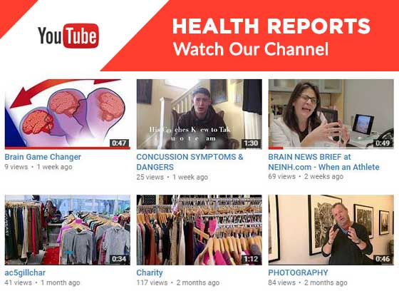 Health Reports YouTube Channel